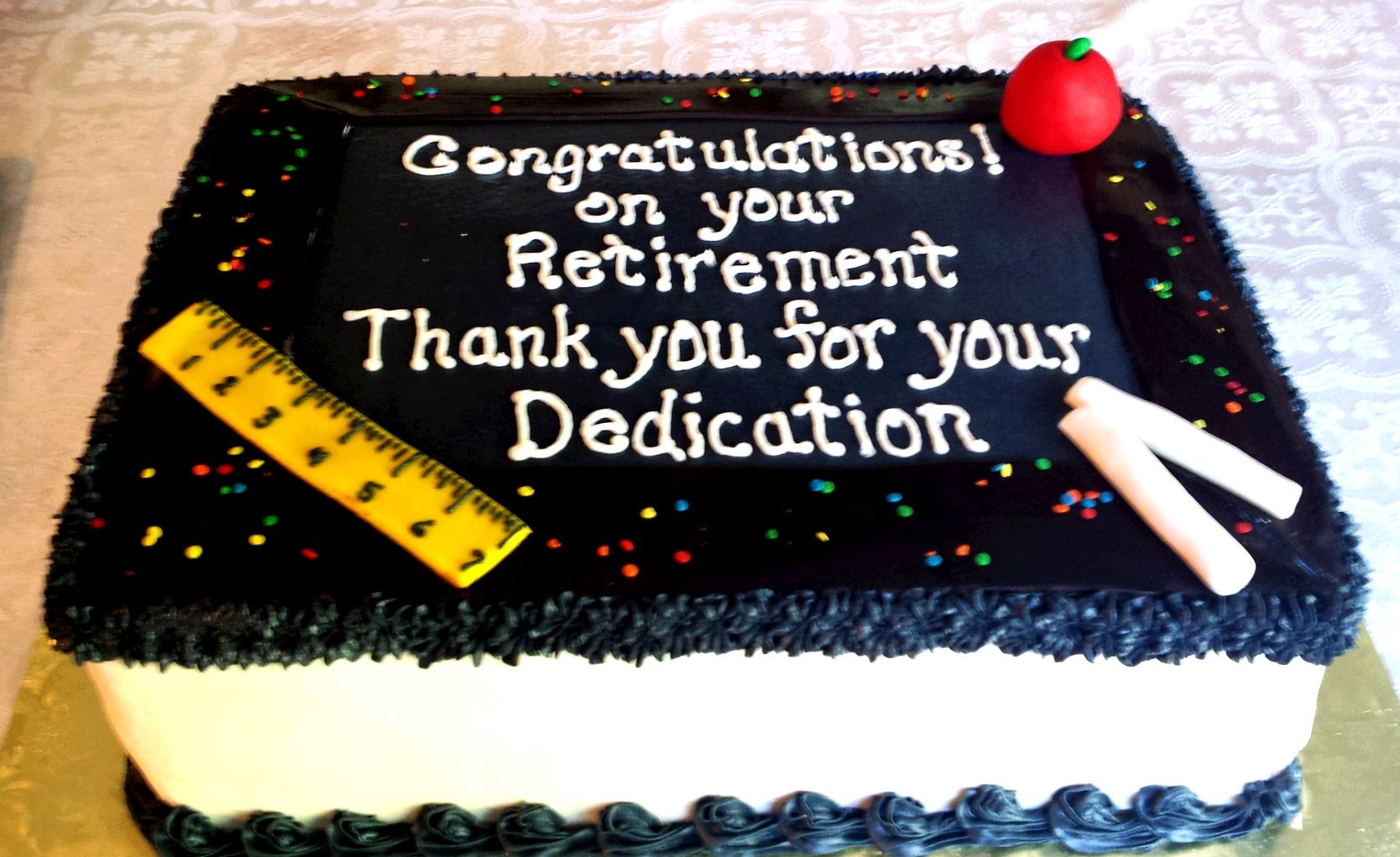 Some Incredible Things To Write On A Cake While Throwing A Retirement Party