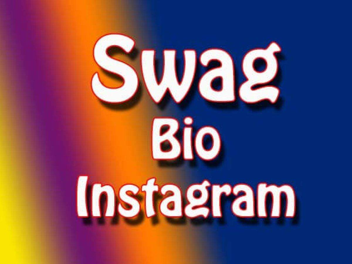 Swag Bio For Instagram